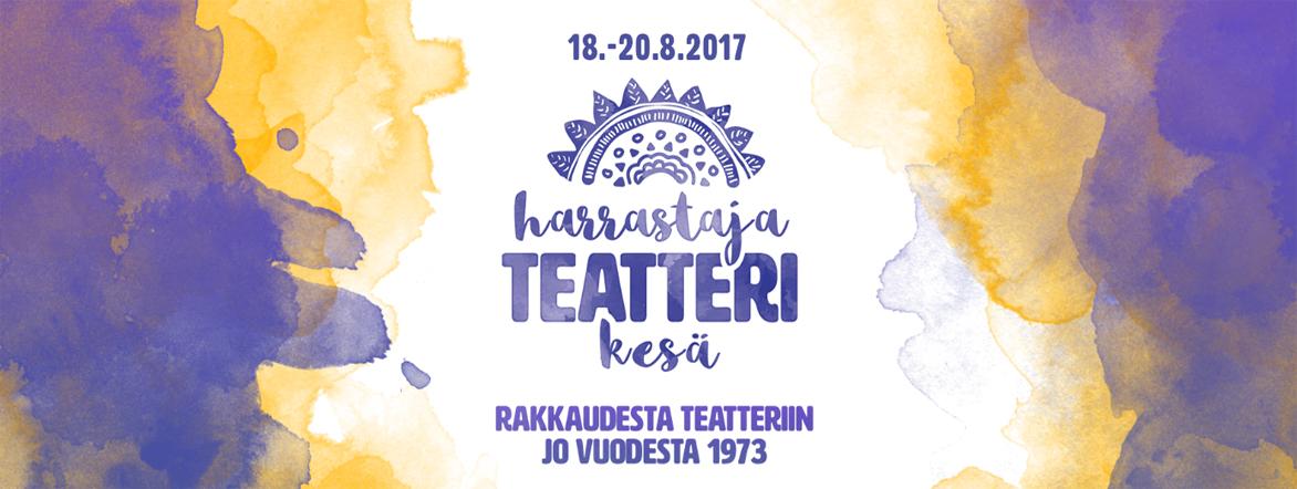 Harrastajateatteri kesä 2017