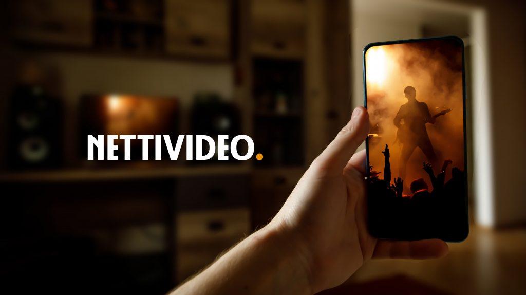 Nettivideo -palvelun kuvabanneri.